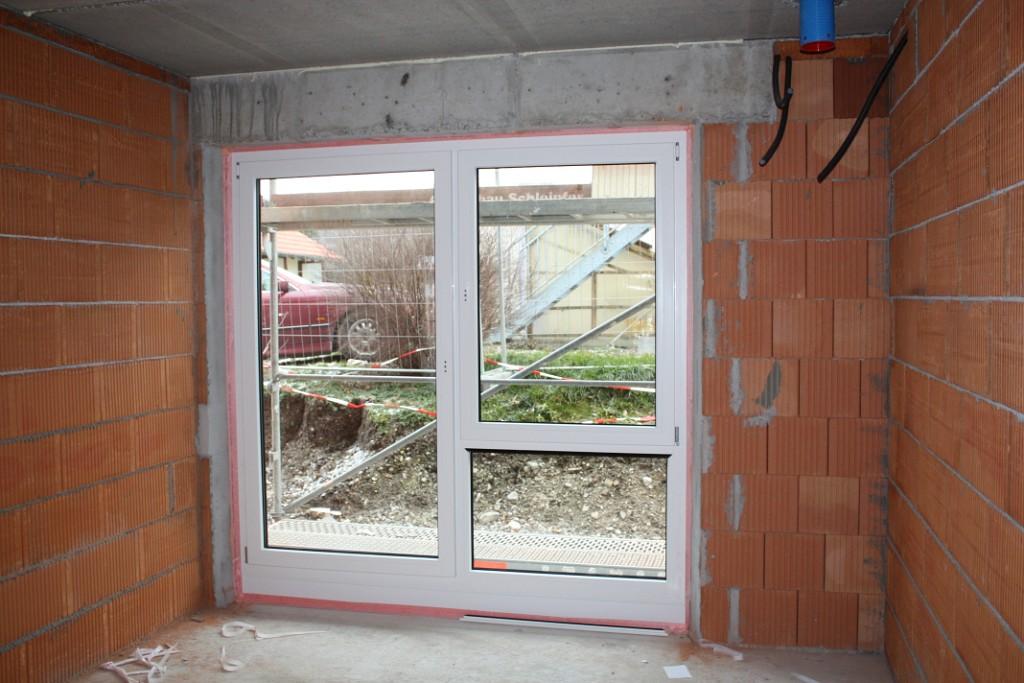 Fenster außen anthrazit innen weiß  Fenster + Türen